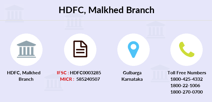Hdfc-bank Malkhed branch