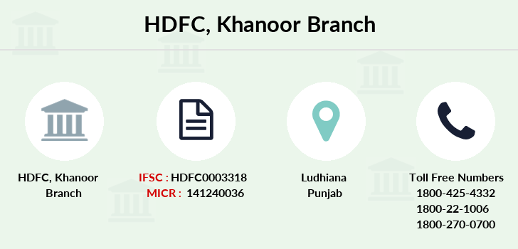 Hdfc-bank Khanoor branch