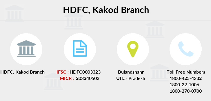 Hdfc-bank Kakod branch