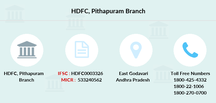 Hdfc-bank Pithapuram branch