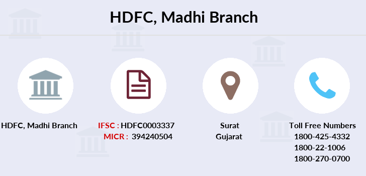 Hdfc-bank Madhi branch