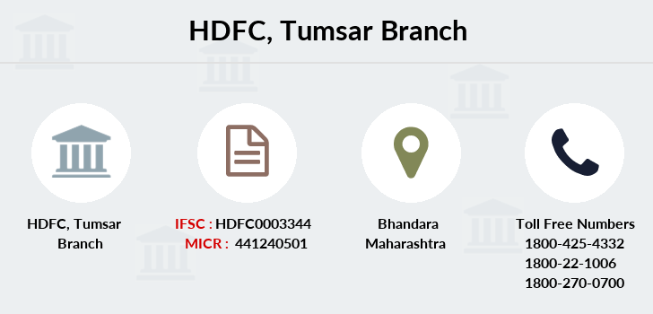 Hdfc-bank Tumsar branch