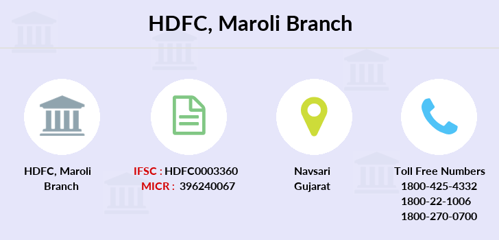 Hdfc-bank Maroli branch