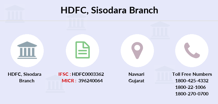 Hdfc-bank Sisodara branch