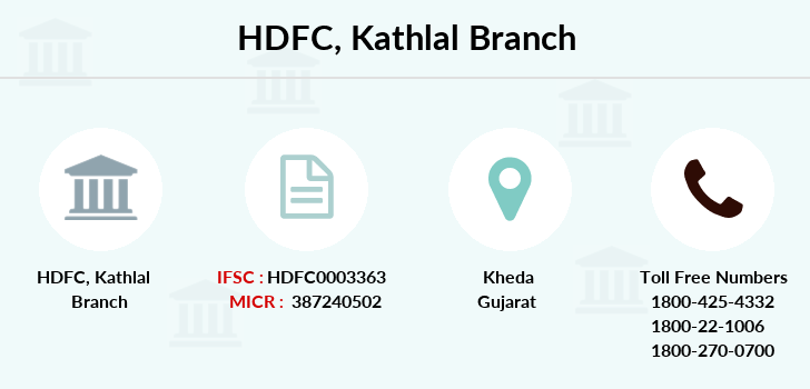 Hdfc-bank Kathlal branch
