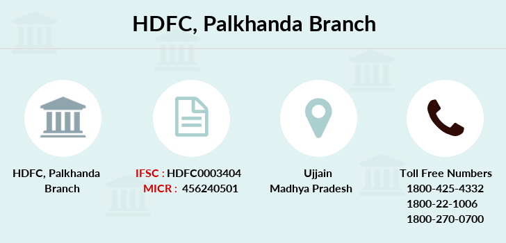 Hdfc-bank Palkhanda branch