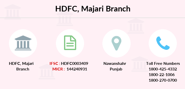 Hdfc-bank Majari branch