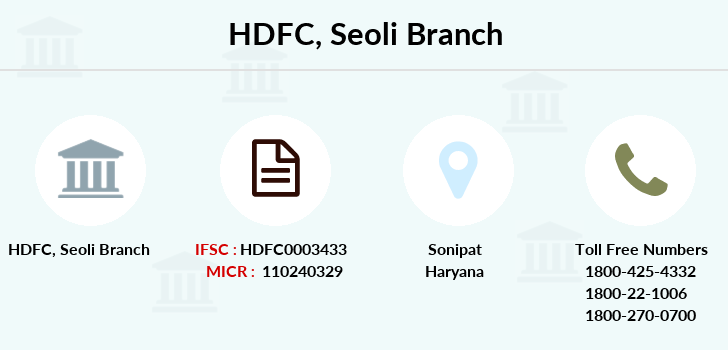 Hdfc-bank Seoli branch