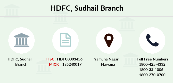 Hdfc-bank Sudhail branch