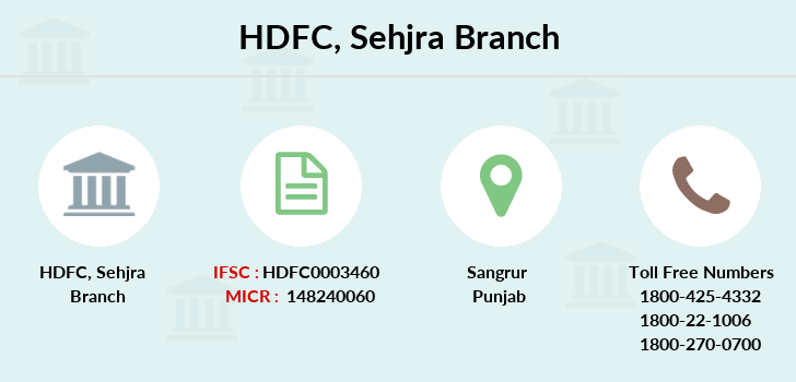 Hdfc-bank Sehjra branch
