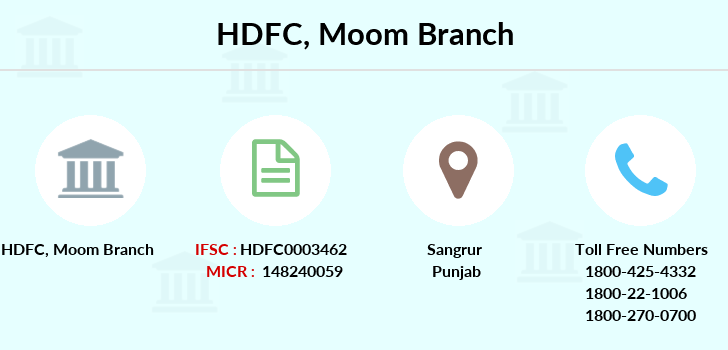 Hdfc-bank Moom branch