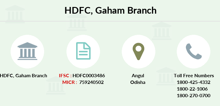 Hdfc-bank Gaham branch
