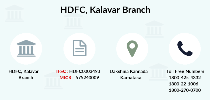Hdfc-bank Kalavar branch