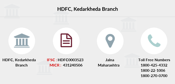 Hdfc-bank Kedarkheda branch