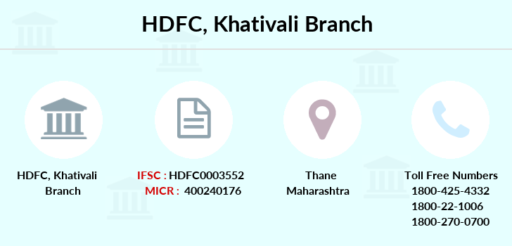 Hdfc-bank Khativali branch