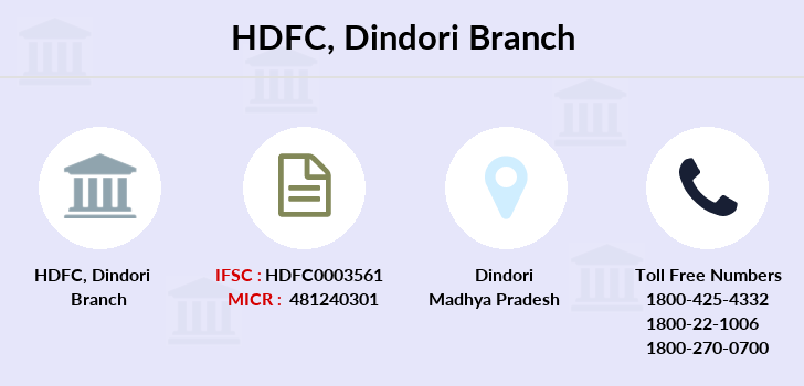 Hdfc-bank Dindori branch