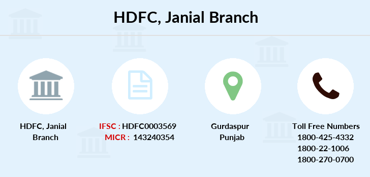 Hdfc-bank Janial branch