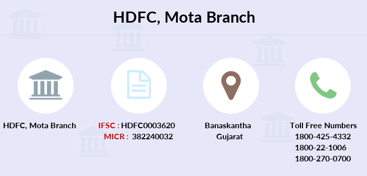 Hdfc-bank Mota branch