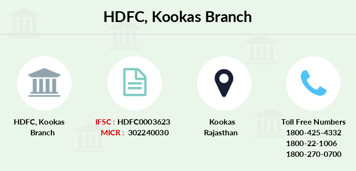 Hdfc-bank Kookas branch