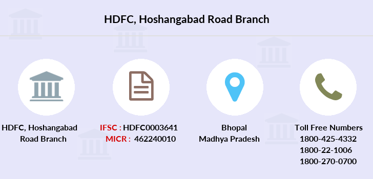 Hdfc-bank Hoshangabad-road branch