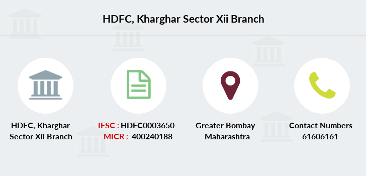 Hdfc-bank Kharghar-sector-xii branch