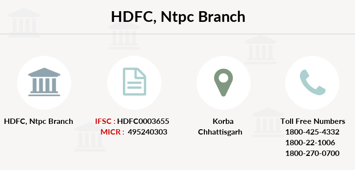 Hdfc-bank Ntpc branch