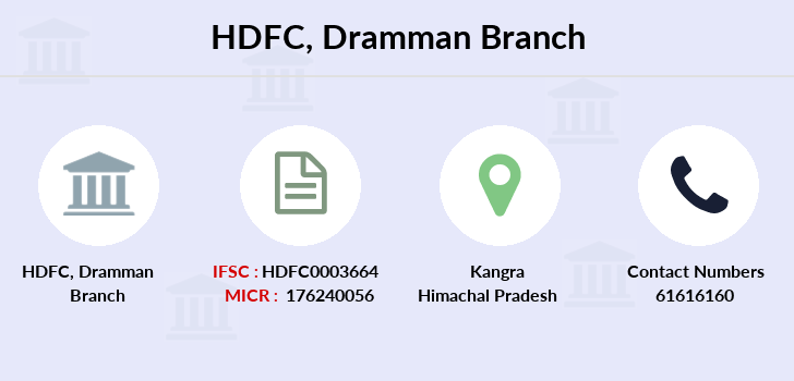 Hdfc-bank Dramman branch
