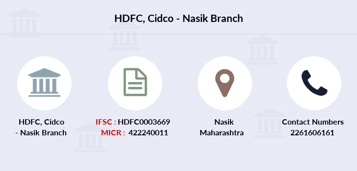Hdfc-bank Cidco-nasik branch