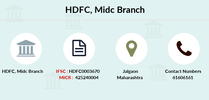 Hdfc-bank Midc branch