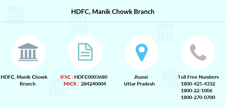 Hdfc-bank Manik-chowk branch