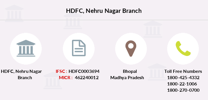Hdfc-bank Nehru-nagar branch