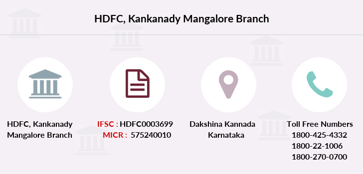Hdfc-bank Kankanady-mangalore branch