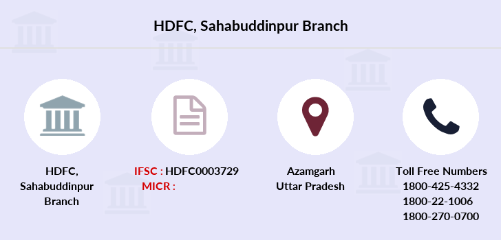 Hdfc-bank Sahabuddinpur branch
