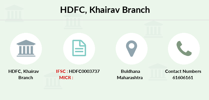 Hdfc-bank Khairav branch