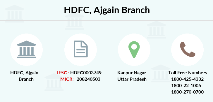 Hdfc-bank Ajgain branch