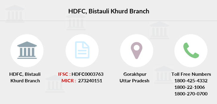 Hdfc-bank Bistauli-khurd branch