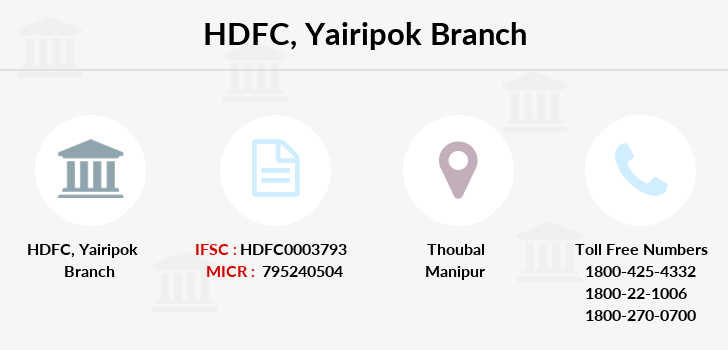 Hdfc-bank Yairipok branch