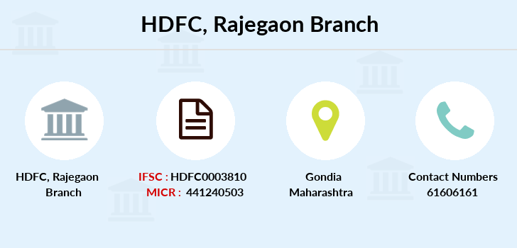 Hdfc-bank Rajegaon branch