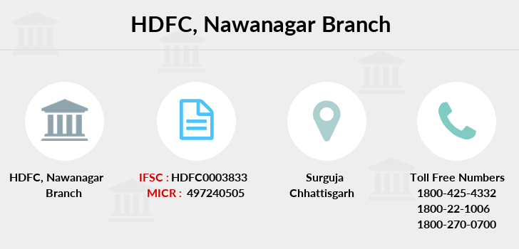 Hdfc-bank Nawanagar branch