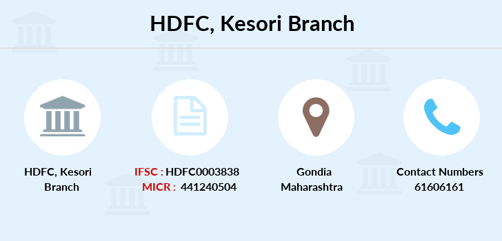 Hdfc-bank Kesori branch