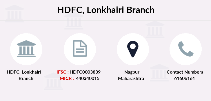 Hdfc-bank Lonkhairi branch