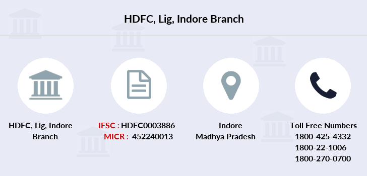 Hdfc-bank Lig-indore branch