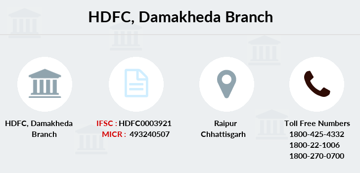 Hdfc-bank Damakheda branch