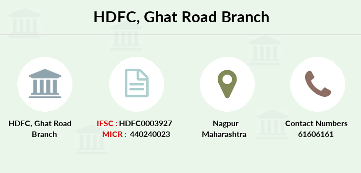 Hdfc-bank Ghat-road branch