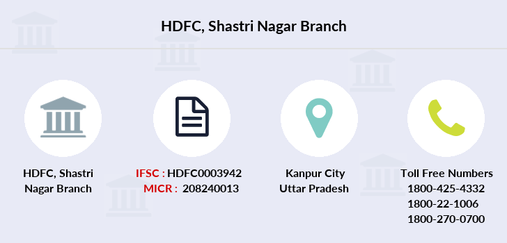 Hdfc-bank Shastri-nagar branch