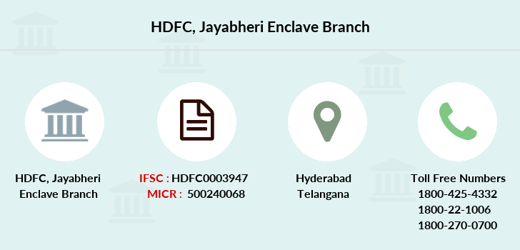 Hdfc-bank Jayabheri-enclave branch