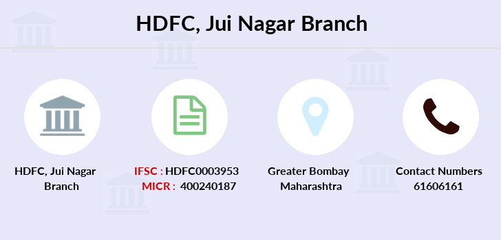 Hdfc-bank Jui-nagar branch