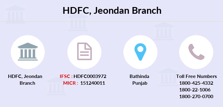 Hdfc-bank Jeondan branch