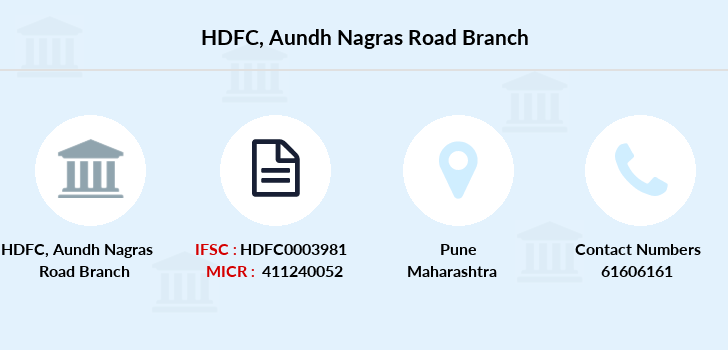 Hdfc-bank Aundh-nagras-road branch