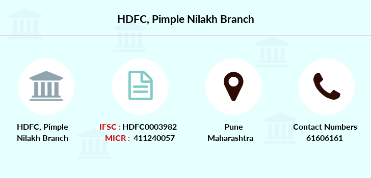 Hdfc-bank Pimple-nilakh branch